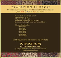 Traditional oriental rugs are back - Neman International